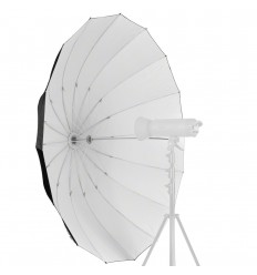 Paraply 150cm Hvid Top kvalitet