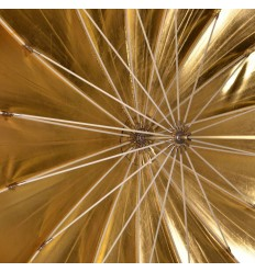 Paraply 165cm Deep Guld Top kvalitet 2