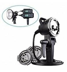 Godox AD-H1200 Remote Head Bowens incl. 1200Watt flashrør og incl kabler til mulig tilkøbling af 2 stk AD600 0