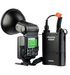 Godox Witstro AD360II E-TTL Portable Flash (uden batteri) Vælg Canon el Nikon 0