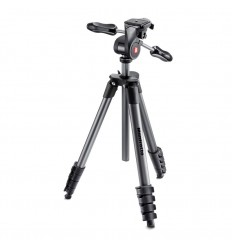 Manfrotto Stativkit Compact Advanced 3-vejshoved