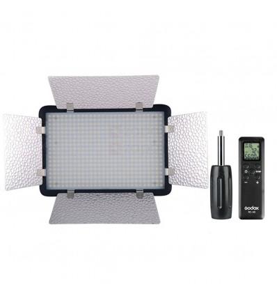 Godox LED500 LED lampe med barndoors 9