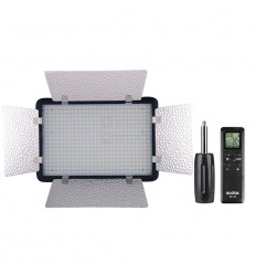Godox LED500 KIT med 3 LED lampe med barndoors incl. taske