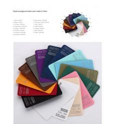 Visico Baggrundspapir - farve: 7 Brisk Blue - 2,72 x 11m og 155 gr pr kvm. 1