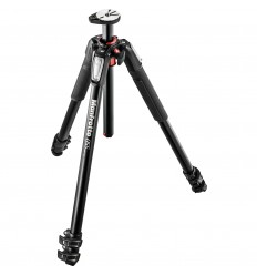 Manfrotto MT055XPRO3 u. kamerahoved 0