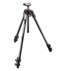 Manfrotto Carbon MT190CXPRO3 u. kamerahoved 0