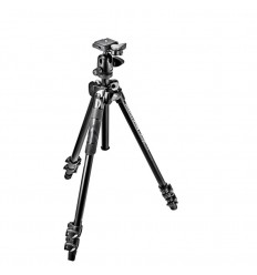 "Manfrotto Stativkit Aluminium 290 Light 494RC2 Kuglehoved """"ca. 1-2 hverdages leveringstid"""""