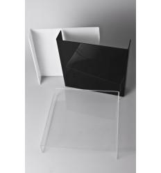 HVID - Stor Krystal Foto Bord/Baggrund 30x30 cm 0