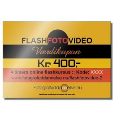 Gave 4 timers online lys lægnings kursus fra KeyPoint Photography - Når du køber for 400kr online eller i butik 0