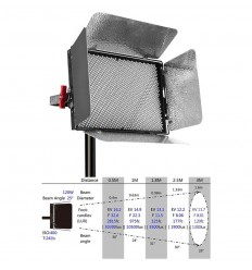 Aputure LightStorm LS 1C / 1S LED with bag, CRI 95, 5500Kelvin