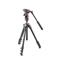 Manfrotto Stativkit Video Befree Live Alu Sort 9