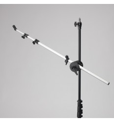 Reflektor Arm - Min. 10cm - Max. 172cm . Sort