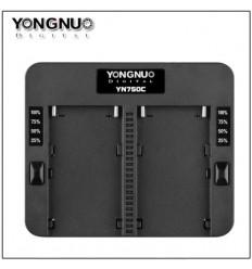 YN750C Lader til sony NP Batterier