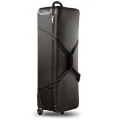 Small - Stærk & ekstra beskyttende trolley taske med flere rumdelere - Ca. indre mål 74 x 23 x 20 cm
